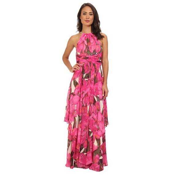 Eliza J Dresses | Ruffle Halter Dress From